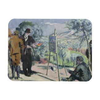 Une visite à la Chambre de Cezanne Magnet