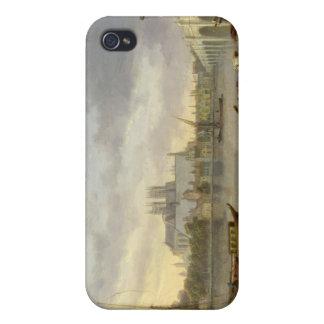 Une vue de pont de Westminster et de l'abbaye du T Étuis iPhone 4