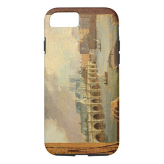 Une vue du pont de Westminster (huile sur le Coque iPhone 8/7