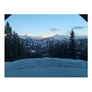 Une vue en carte postale de Breckenridge