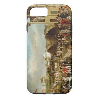 Une vue étendue d'Oxford emballe (huile sur le Coque iPhone 8/7
