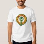 Uni pièce en t de la montre 15th-Anniversary T-shirt