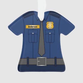 Uniforme de policier de bleu marine personnalisé