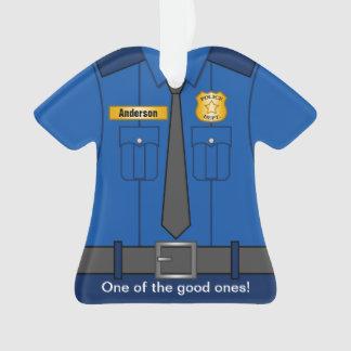 Uniforme de policier de bleu royal
