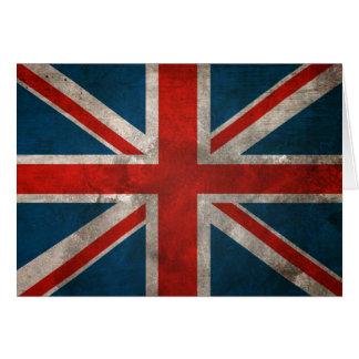 Union Jack britannique Carte De Vœux