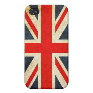 Union Jack grunge Coque iPhone 4/4S