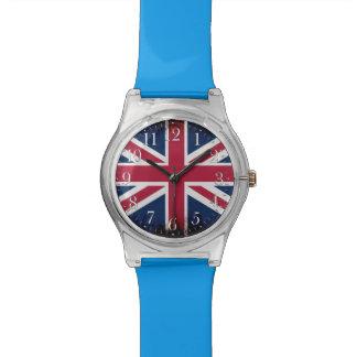 Union Jack patriotique, drapeau BRITANNIQUE des Montres