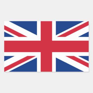 Union Jack Royaume-Uni Sticker Rectangulaire