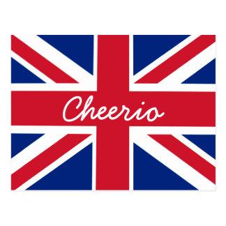 Union Jack salut Cartes Postales