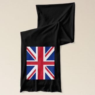 Union Jack sur une longue écharpe