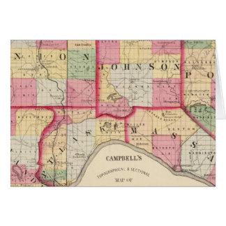 Union, Johnson, Alexandre, Pulaski Cartes