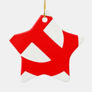 Union Soviétique primitive CCCP de marteau et de Ornement Étoile En Céramique