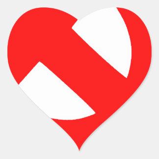 Union Soviétique primitive CCCP de marteau et de Sticker Cœur