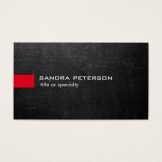 Unique moderne de tableau gris élégant cartes de visite