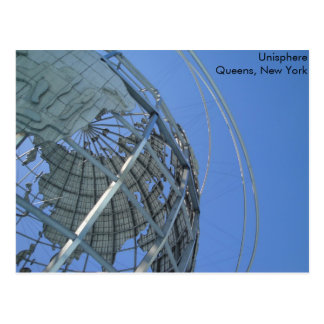 Unisphere Carte Postale