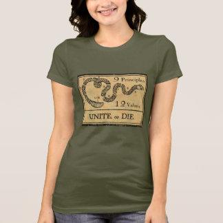 Unissez ou mourez chemise t-shirt