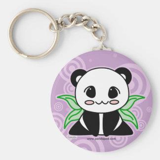 Unité centrale-Ya le porte - clé de panda Porte-clé Rond