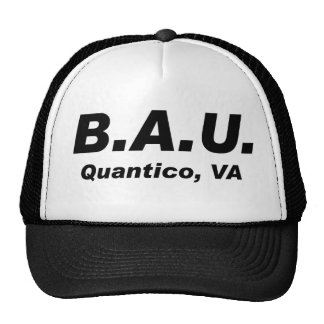Unité d'analyse comportementale casquettes