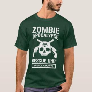 Unité de délivrance d'apocalypse de zombi t-shirt