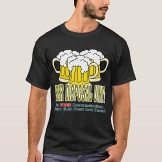 Unité de disposition de bière t-shirt
