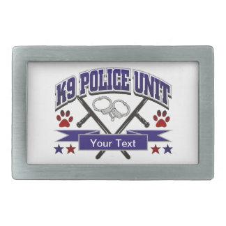 Unité de police K9 personnalisée Boucle De Ceinture Rectangulaire