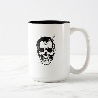 Unité de retenue de boisson de tête morte mug bicolore