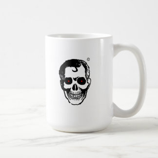 Unité de retenue de boisson de tête morte mug blanc