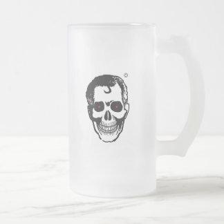 Unité de retenue de boisson de tête morte mug en verre givré