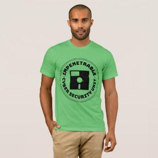 Unité impénétrable officielle de sécurité de Cyber T-shirt
