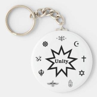 Unité religieuse porte-clé rond