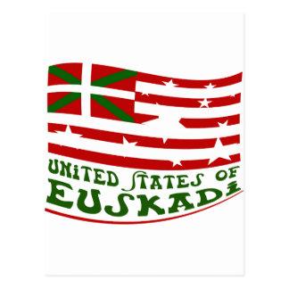 United States of Euskadi 2 Cartes Postales