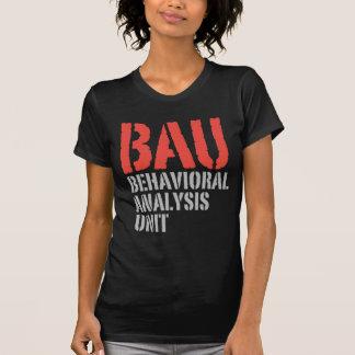 Unités d'analyse comportementale de BAU T-shirt