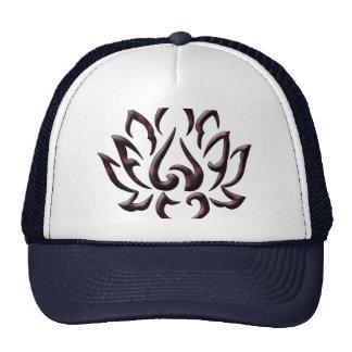 univers de pourpre de fleur de lotus casquettes