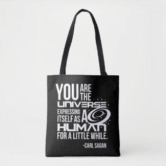 Univers humain tote bag