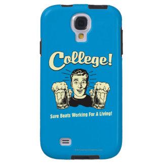 Université : Battements sûrs fonctionnant la vie Coque Galaxy S4