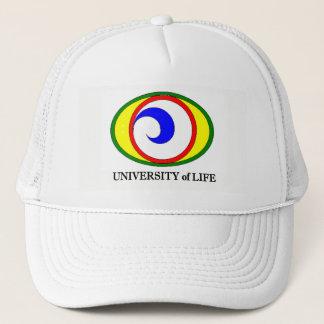 Université de casquette de camionneur de la vie