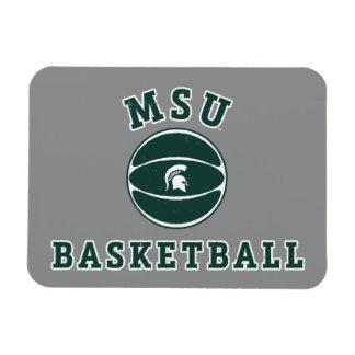 Université de l'Etat d'État du Michigan du Magnets Rectangulaire