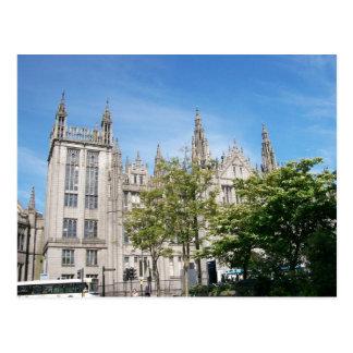 Université de Marischal Carte Postale