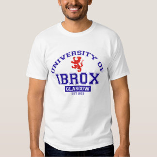 Université d'Ibrox T-shirts
