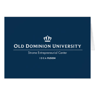 Université d'ODU Strome des affaires Cartes De Vœux