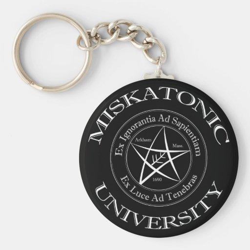 Université Keychain de Miskatonic Porte-clé