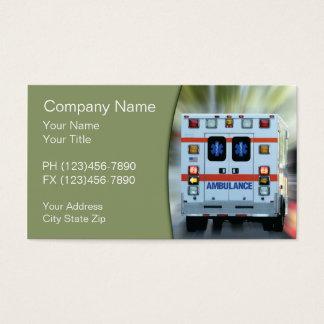 Urgence médicale de SME Cartes De Visite