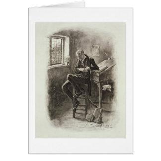 Uriah Heep, de 'Charles Dickens : Un bavardage Carte De Vœux
