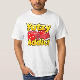 Usage d'amusement d'intoxiqué de Yatzy pro ! T-shirt