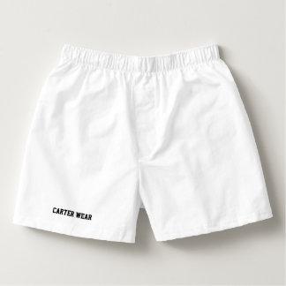 Usage de Carter - boxeurs du coton des hommes -