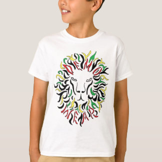 Usage de démo : Lion de Rasta T-shirt
