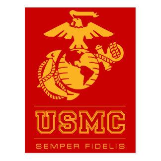 Usmc Semper Fidelis [Semper fi] Carte Postale