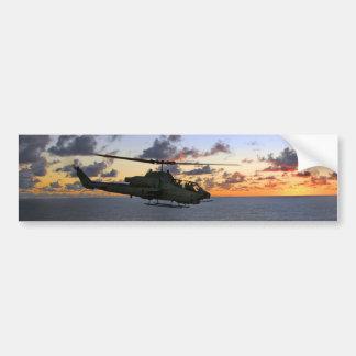Usmc superbe de cobra d'AH-1W Autocollant Pour Voiture