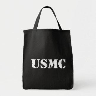 Usmc [texte de pochoir] sac