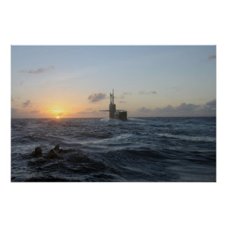 USS Michigan (SSGN 727) Poster